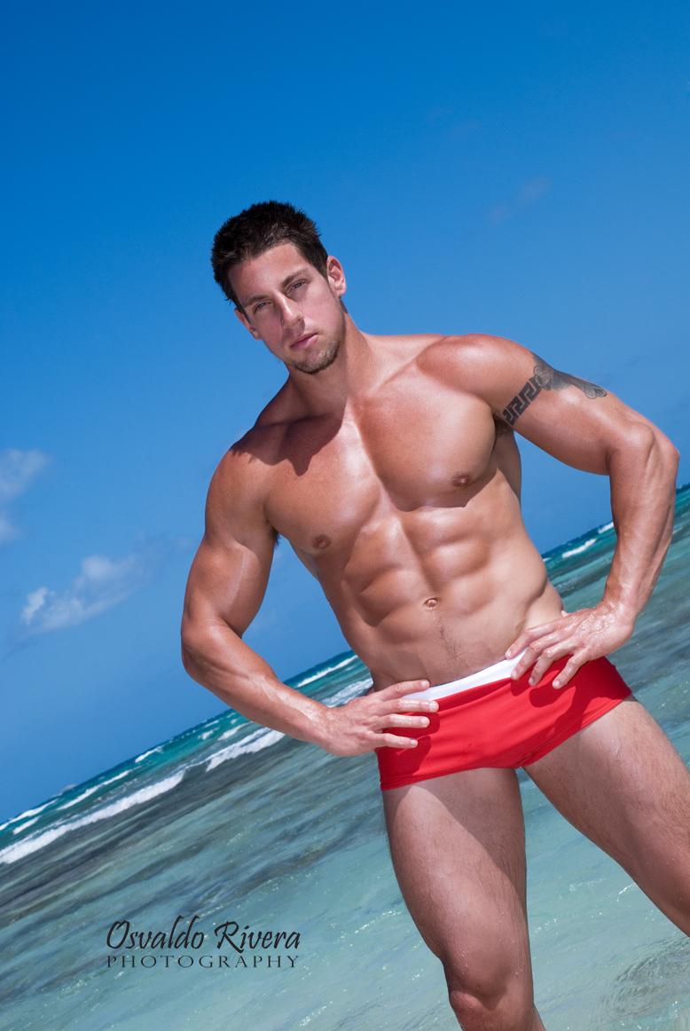 Jason Borish model- Osvaldo Rivera image